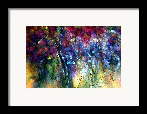 Rosy Paintbrush Framed Print featuring the painting Rosy Paintbrush by Don Wright