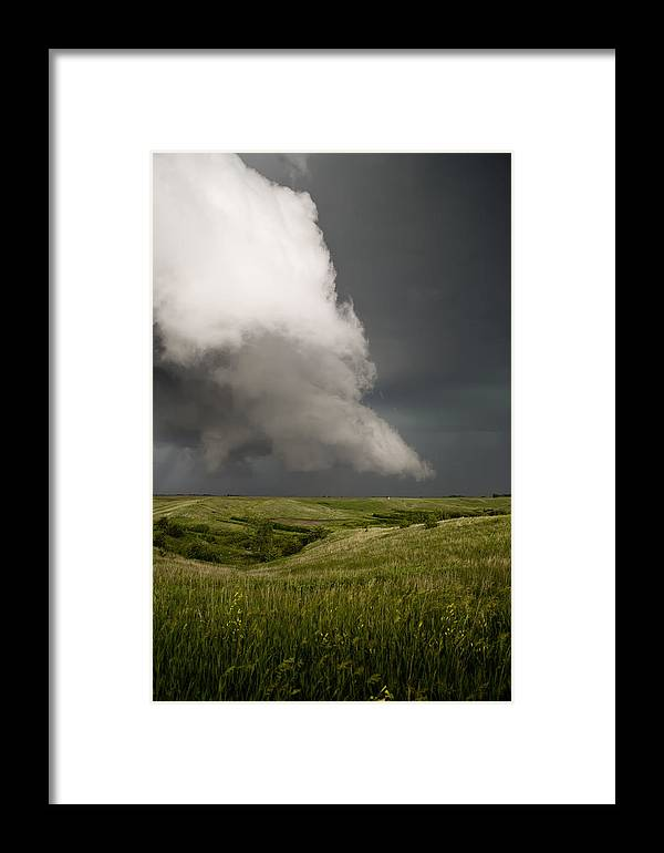 Mesocyclone Framed Print featuring the photograph Rotation by Patrick Ziegler