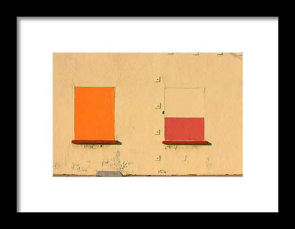 Oakland Framed Print featuring the photograph Rothko Wall Oakland by Art Ferrier