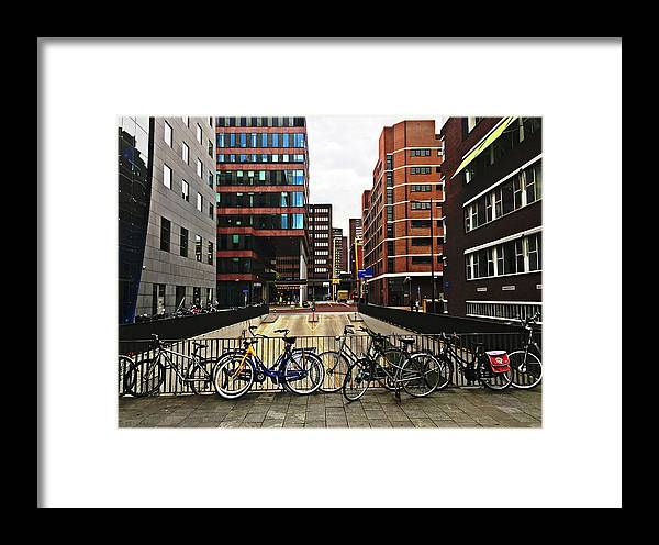 Rotterdam Framed Print featuring the photograph Rotterdam Architecture by HazelPhoto