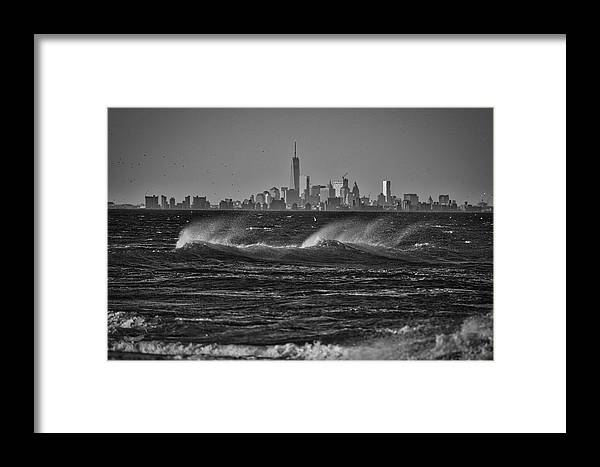 Photography Framed Print featuring the photograph Rough Day by Raven Steel Design