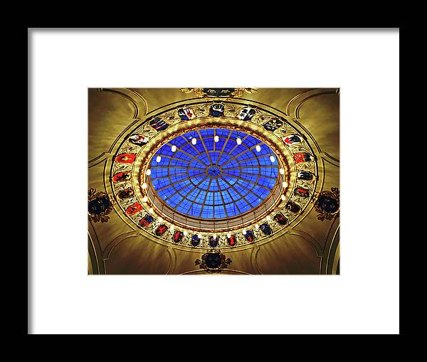 Round Framed Print featuring the photograph Round And Glossy by HazelPhoto