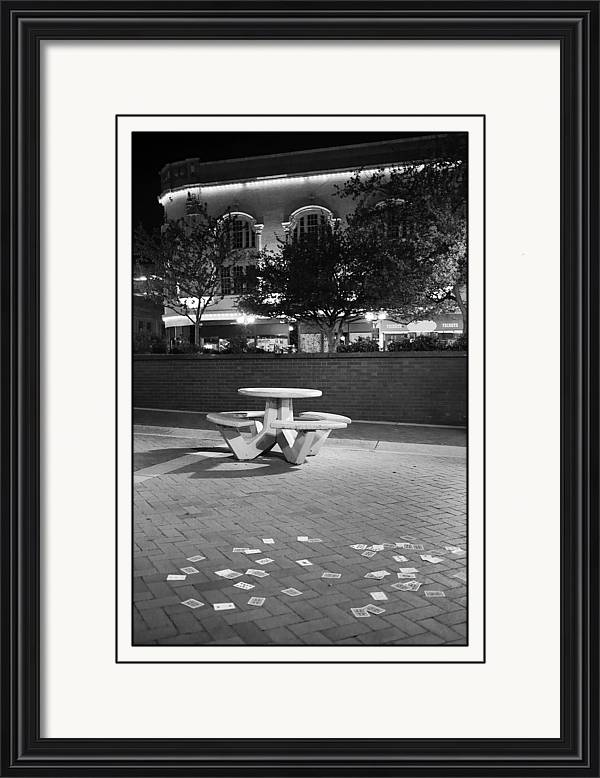 Royale Framed Print featuring the photograph Royale Straight by M Urbanski