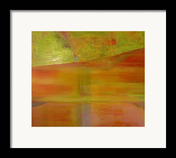 Lanscape Framed Print featuring the print Rubi by Meltem Quinlan