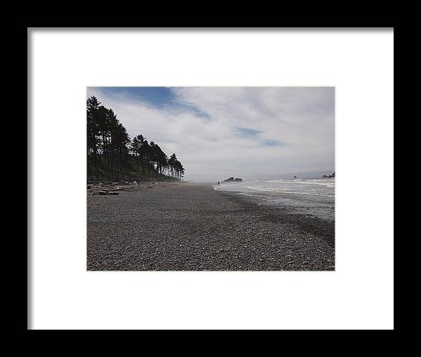 Landscape Framed Print featuring the photograph Ruby Beach by Jim Moore