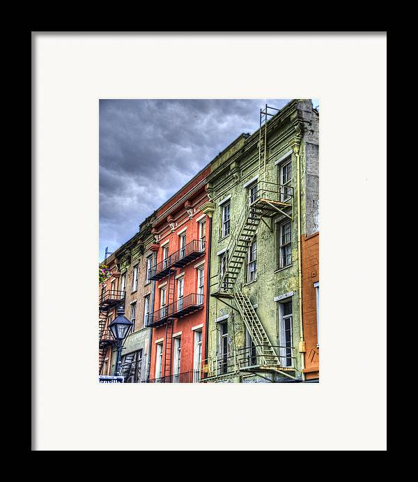 Rue Framed Print featuring the photograph Rue Bienville by Tammy Wetzel