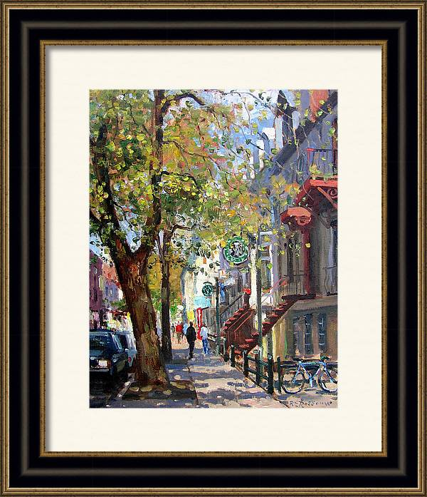 Rue St Denis Montreal by Roelof Rossouw