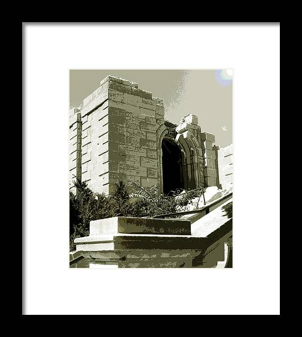St Raphael Framed Print featuring the photograph Ruins Of Morlino by Gary Everson