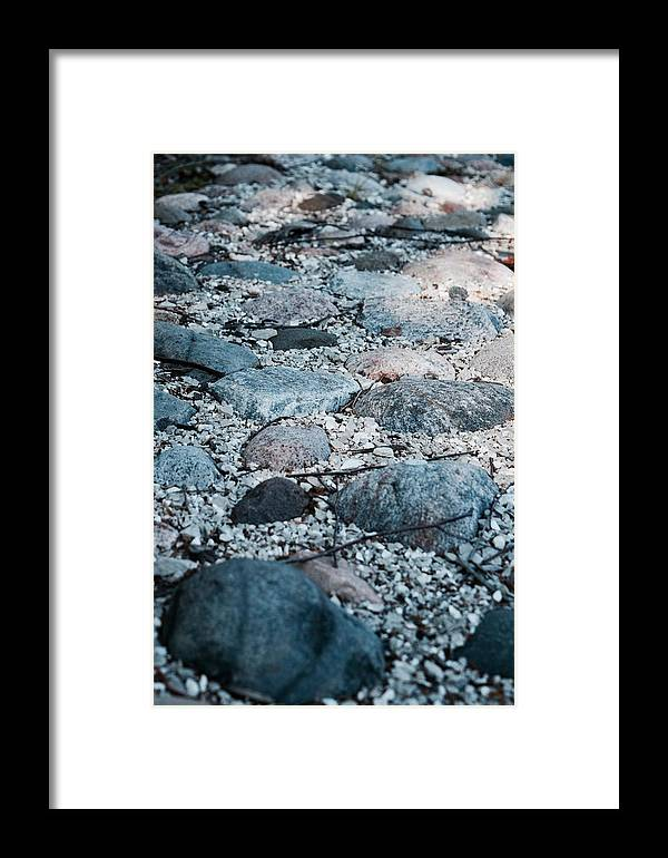Stones Framed Print featuring the photograph Ruminated by Airestudios Photography