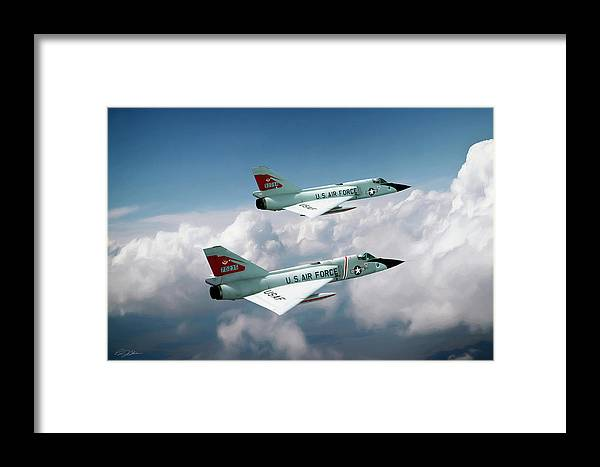 Aviation Framed Print featuring the digital art Running With The Bulls by Peter Chilelli