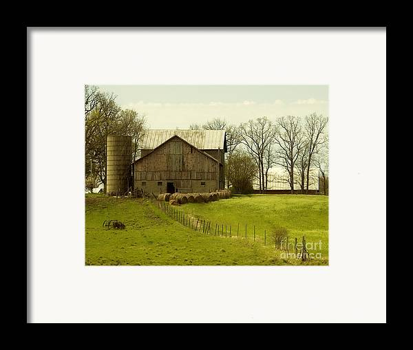 Farms Framed Print featuring the photograph Rural Americana-01 by Neil Doren