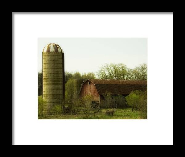 Farm Framed Print featuring the photograph Rural Americana-02 by Neil Doren