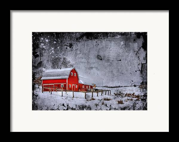 Barn Framed Print featuring the photograph Rural Textures by Evelina Kremsdorf