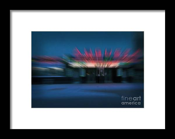 Kansas Framed Print featuring the photograph Rush To The Ticket Booth by Fred Lassmann