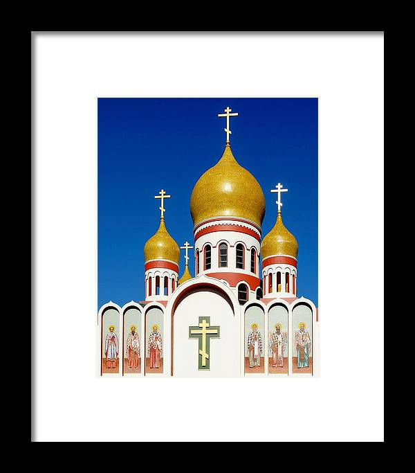 Kj Swan Architecture Framed Print featuring the photograph Russian Orthodox by KJ Swan