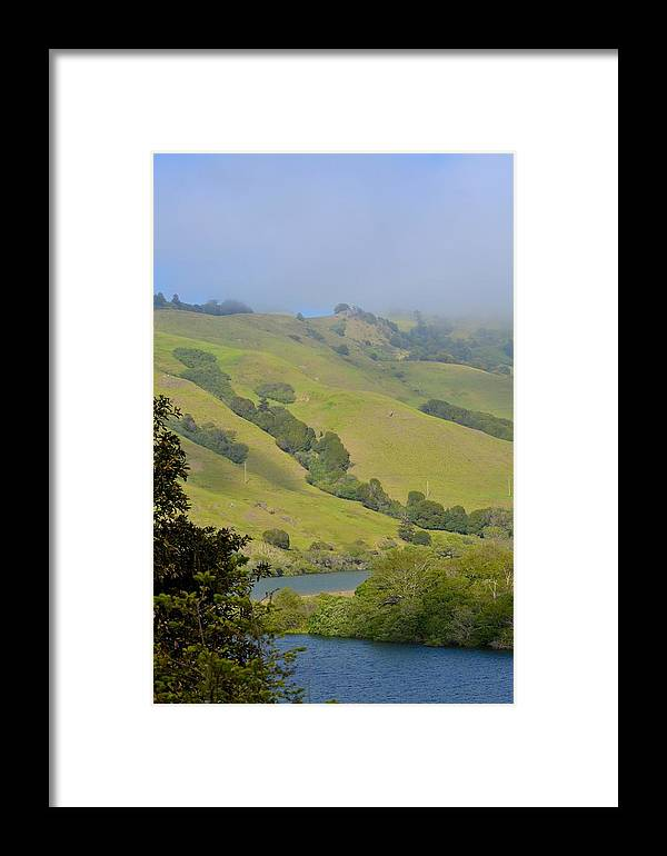 Russian River Framed Print featuring the photograph Russian River 3 by Carol Sheli Cantrell