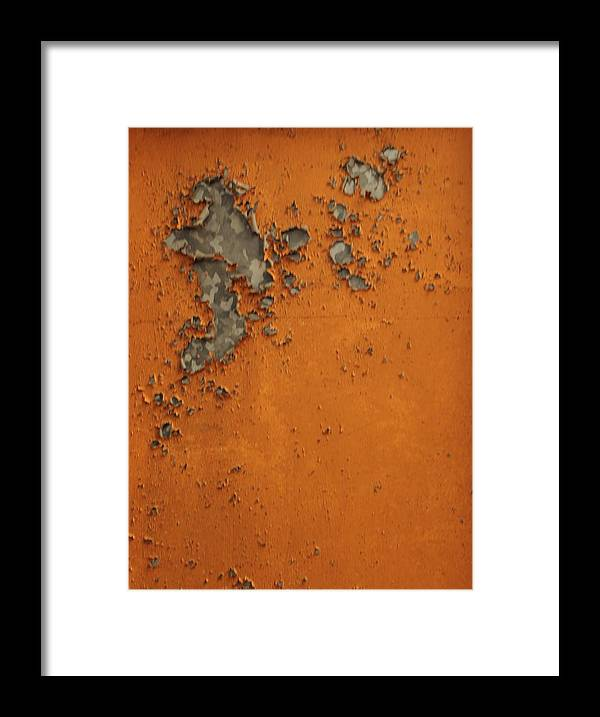 Framed Print featuring the photograph Rust 2 by Michael Raiman