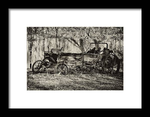 Farm Framed Print featuring the photograph Rust Bucket by Bill Cannon