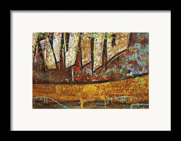 Abandoned Framed Print featuring the photograph Rust Colors by Carlos Caetano