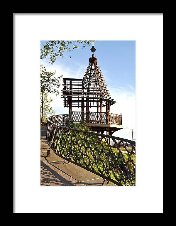 Moshulu Framed Print featuring the photograph Rustic Memorial by Andrew Dinh