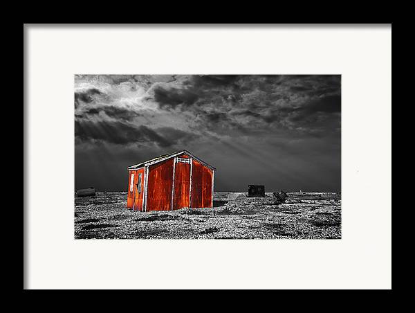 Corrosion Framed Print featuring the photograph Rusting Away by Meirion Matthias