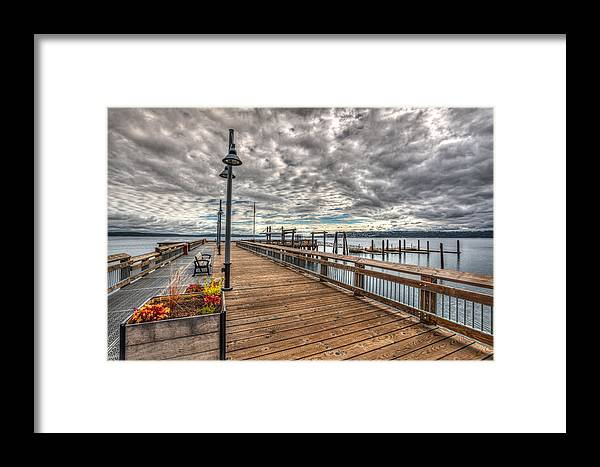 Cloud Framed Print featuring the photograph Ruston by Joshua Fischl