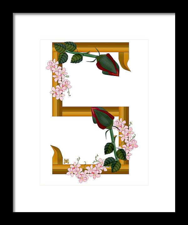 S Framed Print featuring the painting S is for Strengths by Anne Norskog