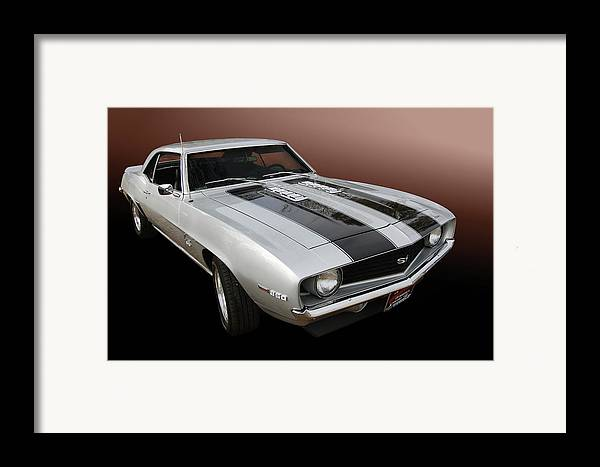 69 Framed Print featuring the photograph S S Camaro by Bill Dutting