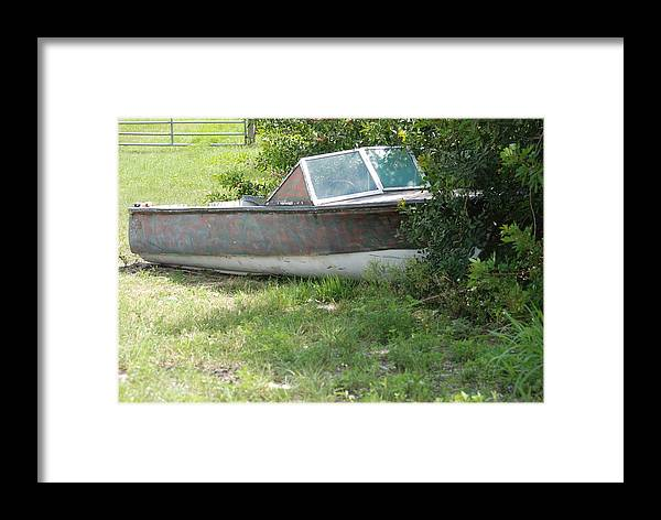 Boat Framed Print featuring the photograph S S Minnow by Rob Hans