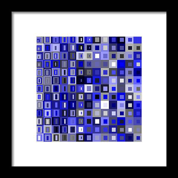 Abstract Framed Print featuring the digital art S.5.39 by Gareth Lewis