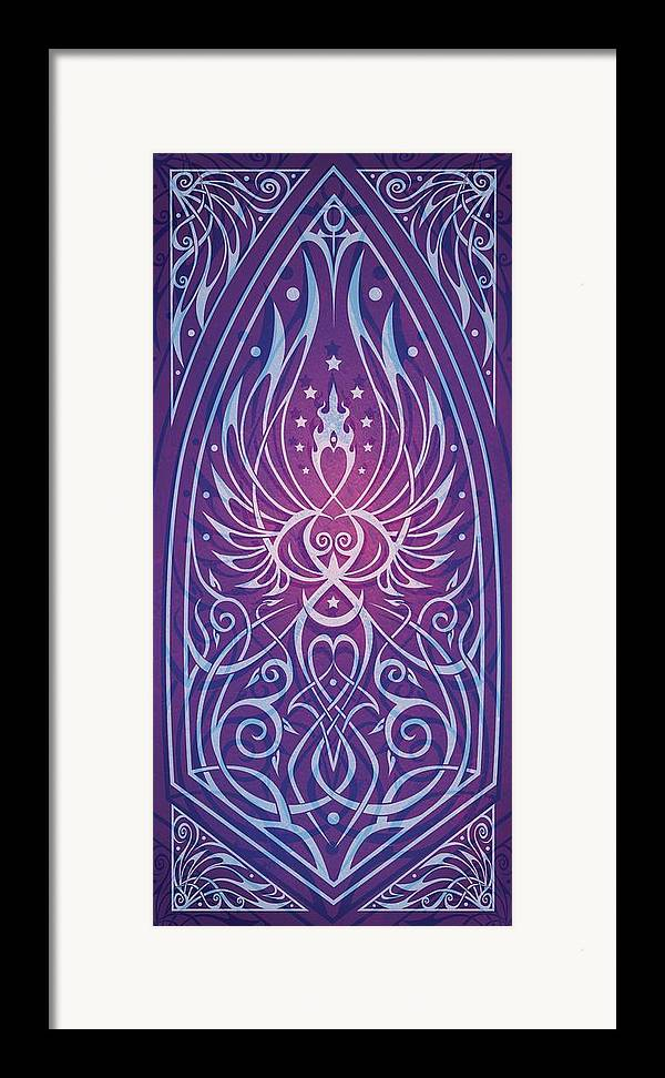 Feminine Framed Print featuring the digital art Sacred Feminine by Cristina McAllister