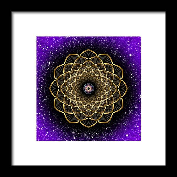 Endre Framed Print featuring the photograph Sacred Geometry 473 by Endre Balogh