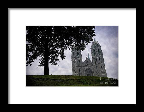 Newark Framed Print featuring the photograph Sacred Heart Cathedral Newark New Jersey by Yuri Lev