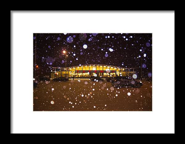 Manitoba Framed Print featuring the photograph Safeway by Bryan Scott