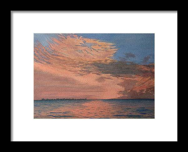 Landscape Framed Print featuring the painting Sailors Delight by Lynn ACourt