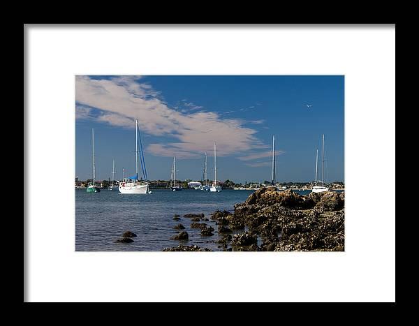 Marina Jacks Framed Print featuring the photograph Sailor's Dream by Michael Tesar