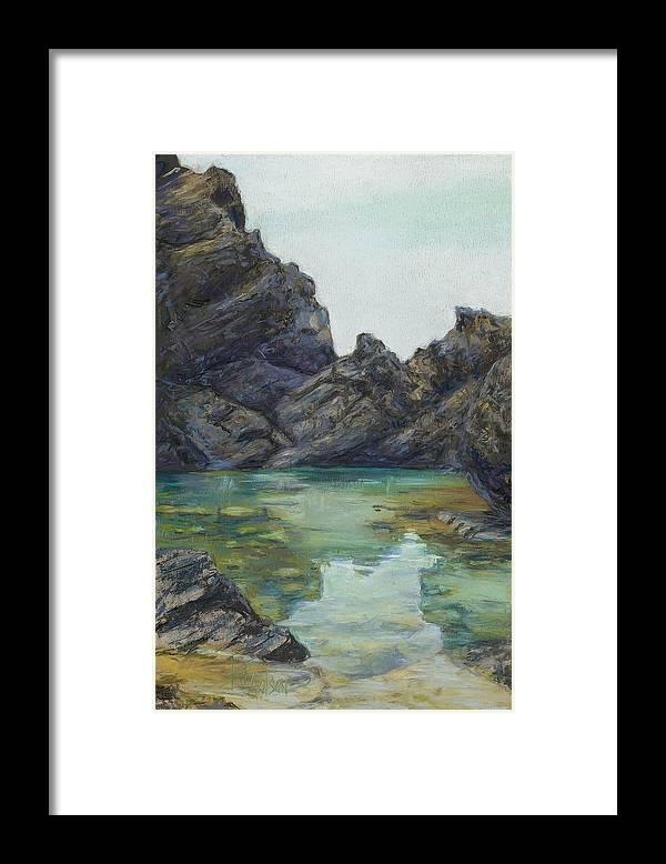 Saint Croix Framed Print featuring the painting Saint Croix by Billie Colson