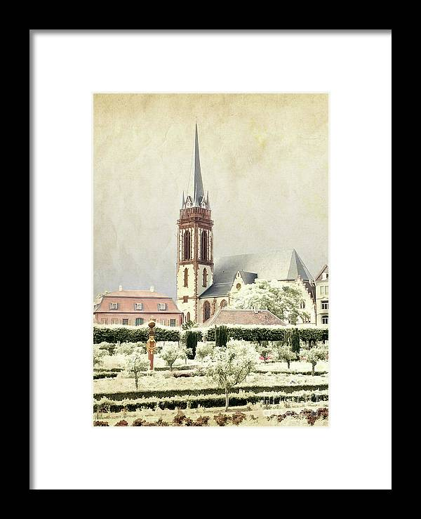 Gabriele Pomykaj Framed Print featuring the photograph Saint-elisabeth Church by Gabriele Pomykaj