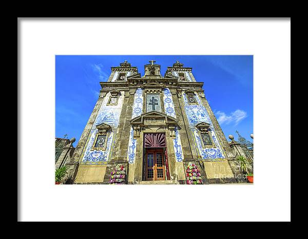 Porto Framed Print featuring the photograph Saint Ildefonso Church by Benny Marty