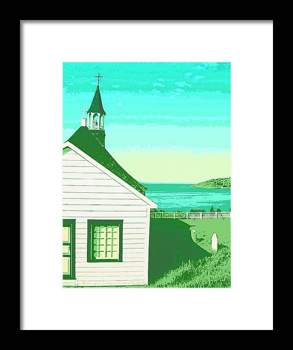 Church Framed Print featuring the mixed media Saint Jerome by Dominic Piperata