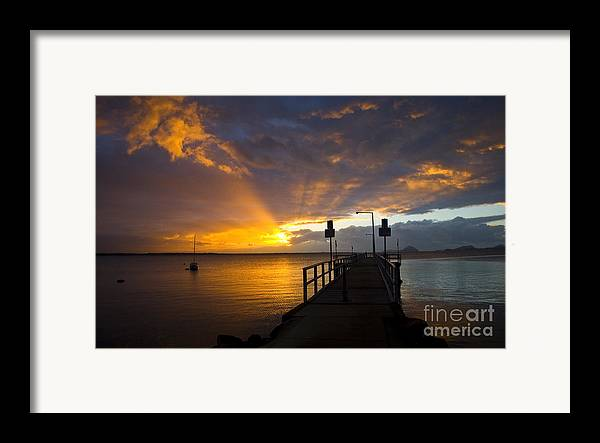 Sunrise Framed Print featuring the photograph Salamander Bay Sunrise by Sheila Smart Fine Art Photography