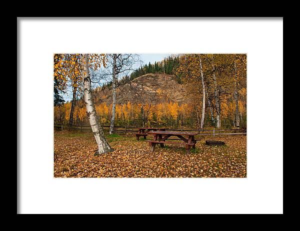 Alaska Framed Print featuring the photograph Salcha River Recreation Area by Cathy Mahnke