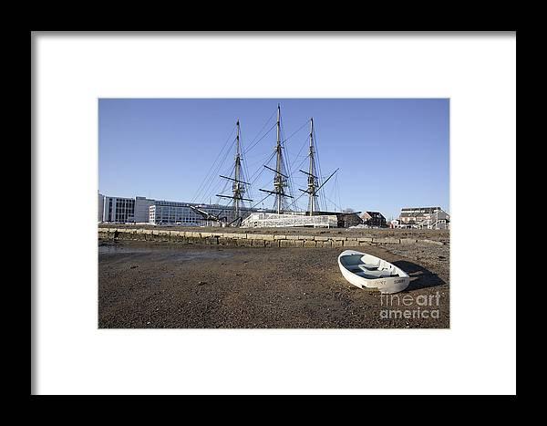 Salem Framed Print featuring the photograph Salem Maritime National Historic Site In Salem Massachusetts Usa by Erin Paul Donovan