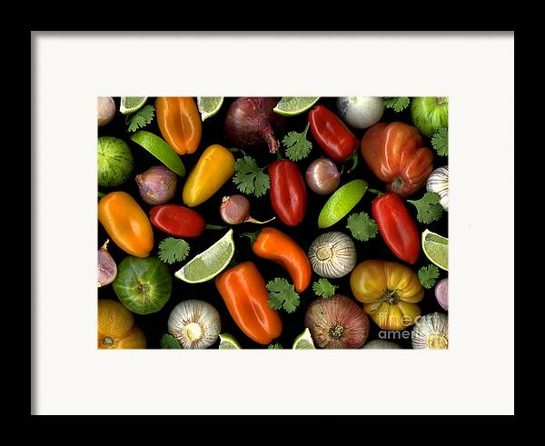 Culinary Framed Print featuring the photograph Salsa by Christian Slanec