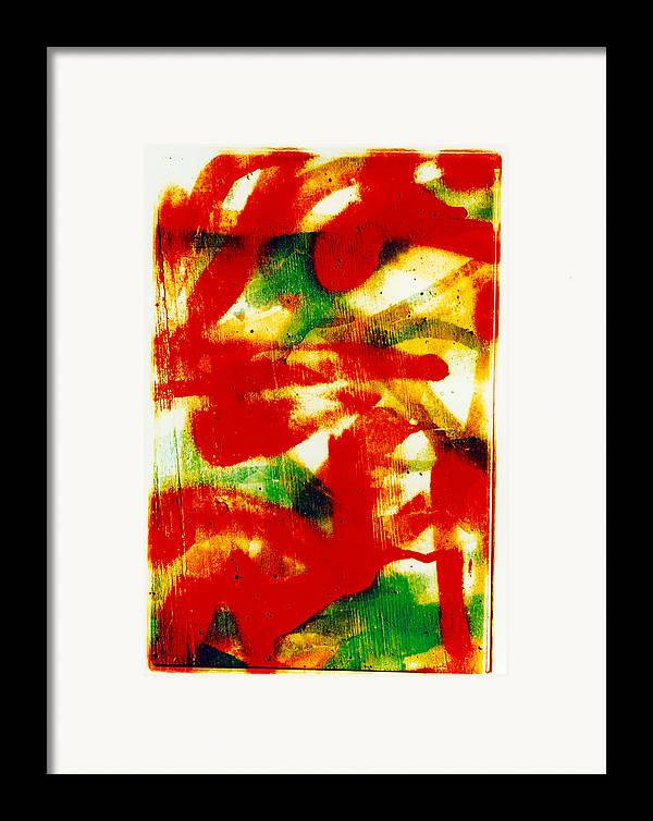 Abstract Framed Print featuring the photograph Salsa by David Rivas