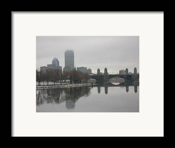 Framed Print featuring the photograph Salt And Pepper by Nancy Ferrier