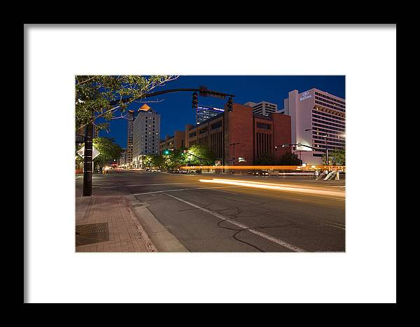 U.s.a. Framed Print featuring the photograph Salt Lake City 1 by Luigi Barbano BARBANO LLC