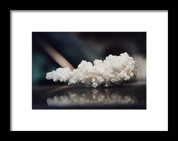 Salt Without Pepper Framed Print featuring the photograph Salt Without Pepper by Adrian Bud