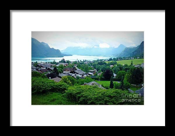 Austria Framed Print featuring the photograph Salzburg Lake District by Carol Groenen