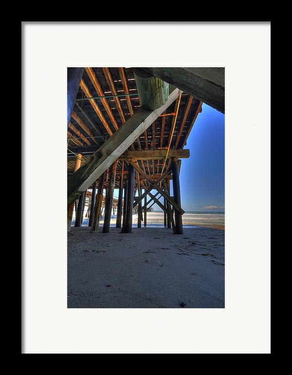 San Clemente Pier Framed Print featuring the photograph San Clemente Pier by Kelly Wade